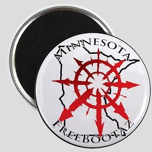 Minnesota Freebootaz Magnet