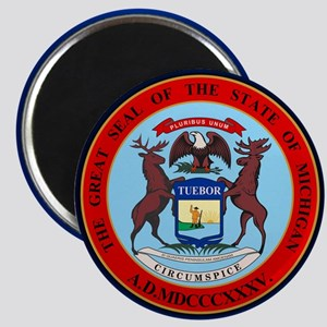 Michigan Seal Magnets