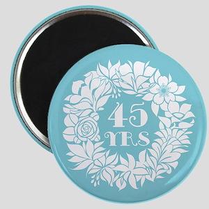 45th Anniversary Wreath Magnet