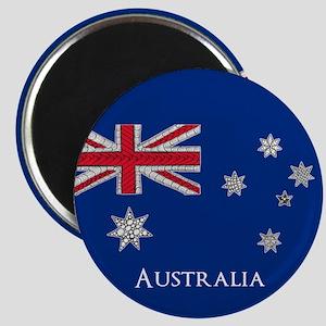 Australian Flag Unique and Customisable Magnet