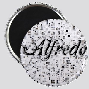 Alfredo, Matrix, Abstract Art Magnet