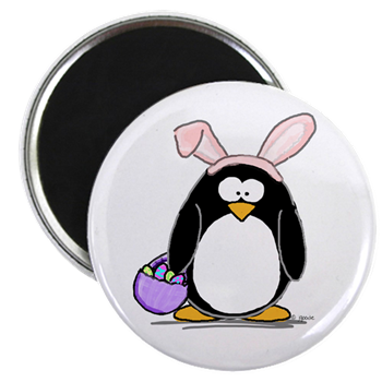 Easter penguin magnet easter penguin penguin by jgoode easter penguin magnet negle Image collections