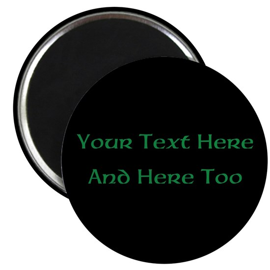Your Text Here (Green on Black)