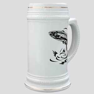 trout fish jumping Stein