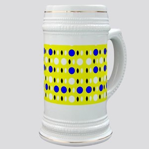 Yellow Blue Sunshine Borneo Stein