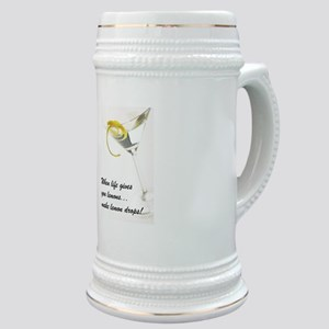 Lemon Drop Martini Stein