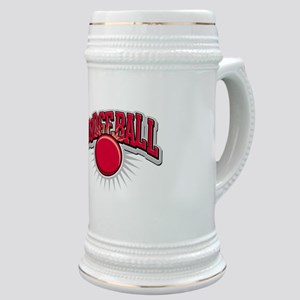 Dodge Ball Logo Stein