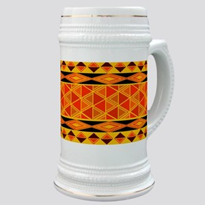 African Traditional Ornament Stein