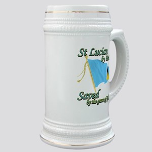 St lucian by birth Stein