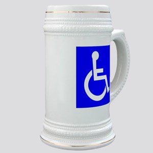 Handicap Sign Stein