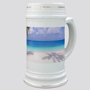 Tropical Beach Stein