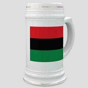 The Red, Black and Green Flag Stein