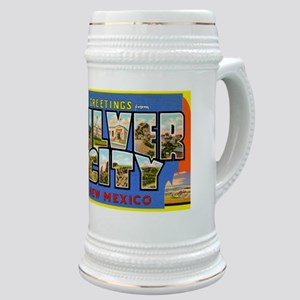 Silver City New Mexico Greetings Stein