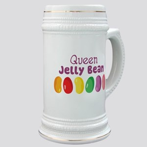 Queen Jelly Bean Stein