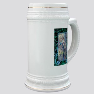 Mermaid and Seahorse Fantasy Art Stein