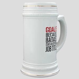 Badass Goalie Stein