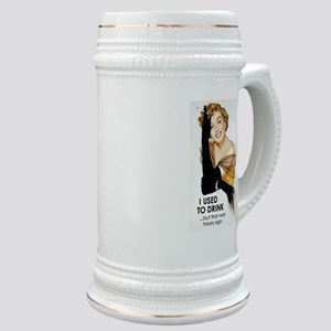 Used to Drink Stein