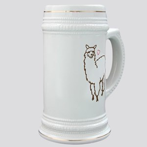 Cute Alpaca Stein