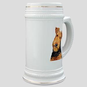 Airedale Terrier Stein