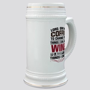 Coffee and Wine Stein