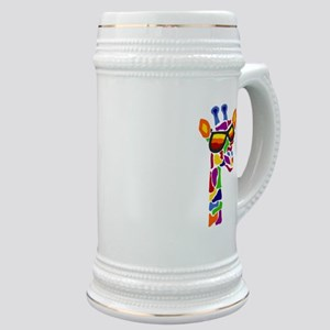 Giraffe in Sunglasses Stein