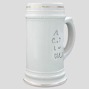 Text cat Stein