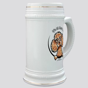 Apricot Poodle IAAM Stein