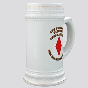 Army - Division - 5th Infantry Stein