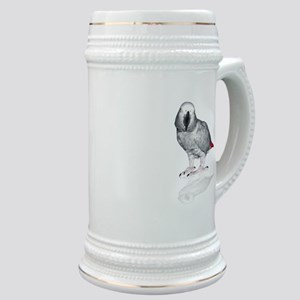 African Grey Parrot Stein