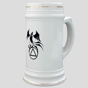 A.A. Logo Phoenix B&W - Stein