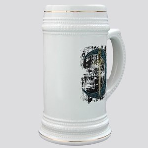 Grunge Celtic Moon and Sword Stein