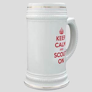Keep Calm Scout Stein