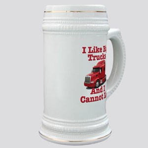 I Like Big Trucks Peterbilt Stein