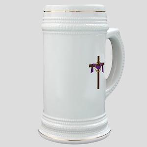 Season Of Lent Cross Stein