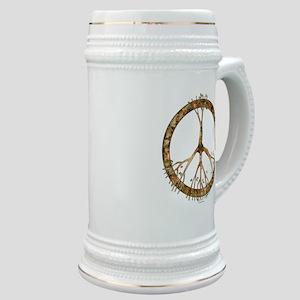 Peace Tree Stein