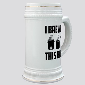 """""""I Brewed This Beer"""" Stein"""