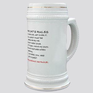THE CAT'S RULES Stein