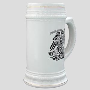 Phoenix Bird Tribal Tattoo Stein