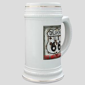 Oklahoma Route 66 Classic Stein