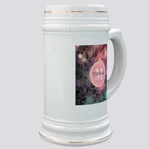 Colorful Mosaic Pattern Personalized Stein