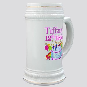 PERSONALIZED 12TH Stein