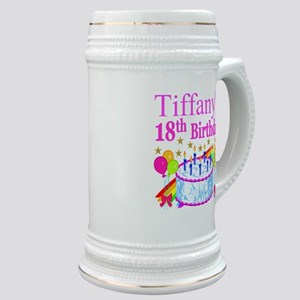 PERSONALIZED 18TH Stein