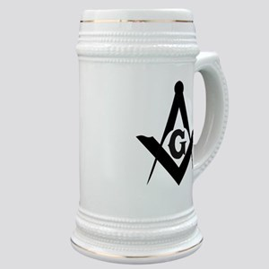Outline Square and Compass Stein