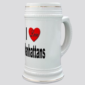 I Love Manhattans Stein