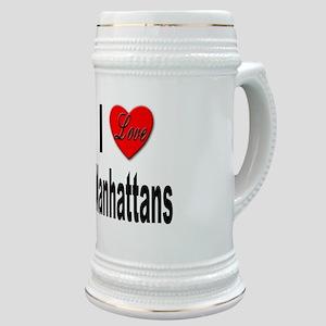 I Love Manhattans Stein