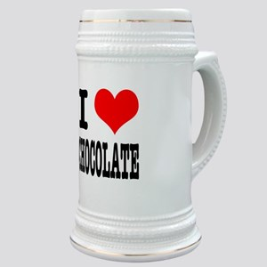 I Heart (Love) Chocolate Stein