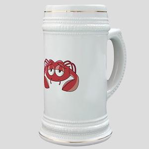 Sad Little Crabby Crab Stein