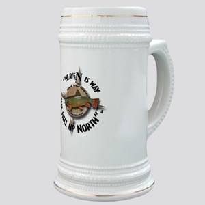 Brook Trout Fishing Stein