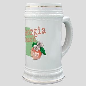 Georgia Peach Stein