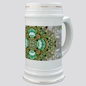 green diamond bling Stein